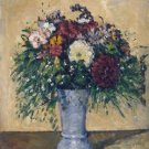 Flowers in a Blue Vase, 1873-75 - 24x18 IN Poster