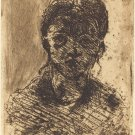 Bust of a Girl, 1873 - 24x18 IN Canvas