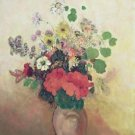 Vase of Flowers, 1908-10 - 24x18 IN Canvas