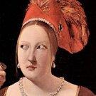 Woman's head by La Tour - 24x32 IN Canvas