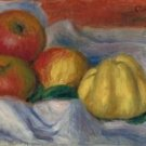 Still Life with Apples and Quince - 24x32 IN Canvas