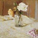 Edouard Vuillard - Roses in a Glass Vase - A3 Paper Print