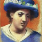 Pablo Picasso - Woman with Flowered Hat - A3 Paper Print