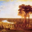 Prince's birthday by Joseph Mallord Turner - 24x18 IN Canvas