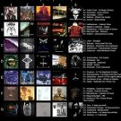 Vinteja charts of - PHS Essential Black Metal - A3 Paper Print