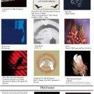 Vinteja charts of - PHS Essential Post-Punk (1) - A3 Paper Print