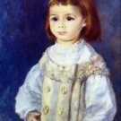 Child in White by Renoir - A3 Paper Print