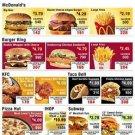 Vinteja charts of - Calories per Dollar - A3 Paper Print