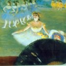 Dance with Bouquet by Degas - A3 Poster