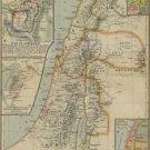 Vinteja charts of - AW Ancient Israel - A3 Paper Print