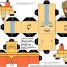 Vinteja charts of - BOX - Aang (Avatar) - A3 Paper Print