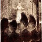 Concert in Europe by Seurat - A3 Poster