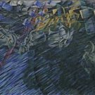 Umberto Boccioni - States of Mind II Those Who Go - 24x18IN Paper Print