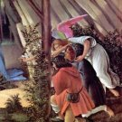 Birth of Christ (Mystic birth) Detail by Botticelli - 24x18 IN Canvas