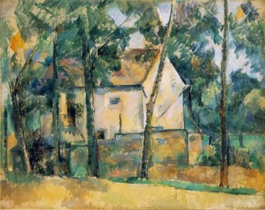 House and Trees, 1890-94 - 24x32 IN Canvas