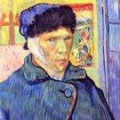 Self-Portrait with cut ear [2] by Van Gogh - 30x40 IN Canvas