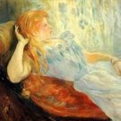 Young girl resting [2] by Morisot - Poster (24x32IN)
