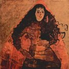 Portrait of Trude Engel by Schiele - 24x32 IN Canvas