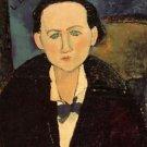 Modigliani - Portrait of Elena Pavlowski - 24x32 IN Canvas