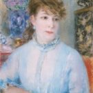 Portrait of a Woman, 1877 - 24x32 IN Canvas