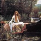 John William Waterhouse The Lady of Shalott - Poster (24x32IN)
