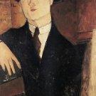 Modigliani - Portrait of Paul Guillaume [3] - A3 Paper Print