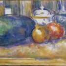 Still Life with a Watermelon and Pomegranates, 1900-06 - 24x32 IN Canvas