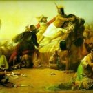 Pizarro Seizing the Inca of Peru, 1846 - A3 Poster
