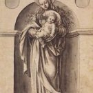Virgin and Child. 1520 - 24x18 IN Canvas