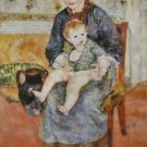 Mother and Child, 1881 - 24x18 IN Canvas