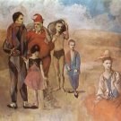Family of Saltimbanques [1905] - 24x18 IN Canvas