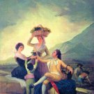 The Vintage by Goya - 30x40 IN Canvas