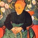 Portrait of Augustine Roulin (La Berceuse by Van Gogh - 24x32 IN Canvas