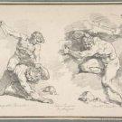 Hercules and Kakus (1761) - 24x18 IN Poster
