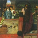 Hadrian visiting a Roman-British pottery by Alma-Tadema - 24x32 IN Canvas