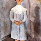 Modigliani - Girl in blue - Poster (24x32IN)