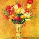 Tulips in a Vase - Poster (24x32IN)