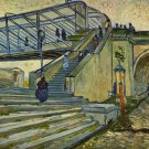 The Bridge at Trinquetaille by Van Gogh - A3 Paper Poster Home Room Wall Decor