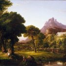 Thomas Cole - Dream of Arcadia - A3 Paper Poster Wall Decor