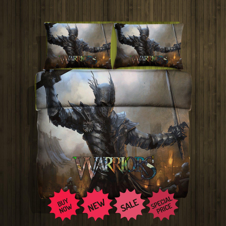 Set gift warriors fleece blanket large & 2 pillow cases #81367544,81367549(2)