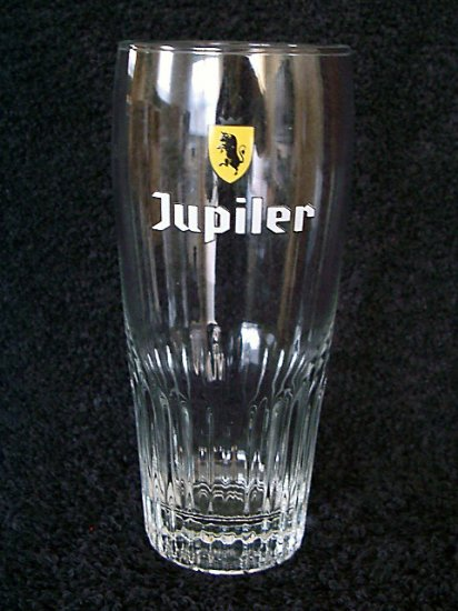 Jupiler Belgian Beer Glasses, Set of 2, 0.33L