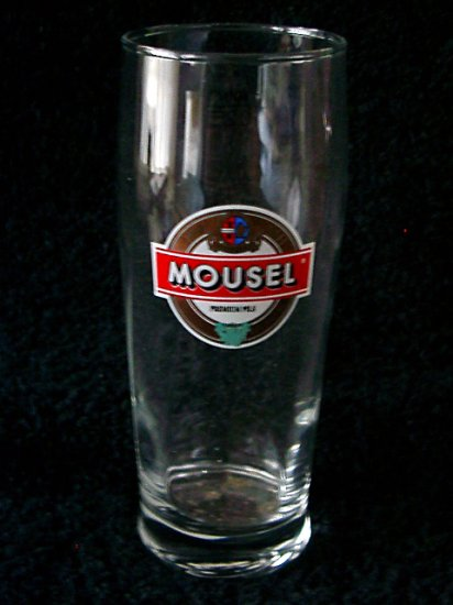 Mousel Pils Beer Glass, Luxembourg, Set of 2, 0.25L