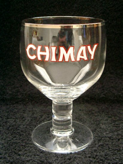 Chimay Belgian Beer Glasses, Set of 2