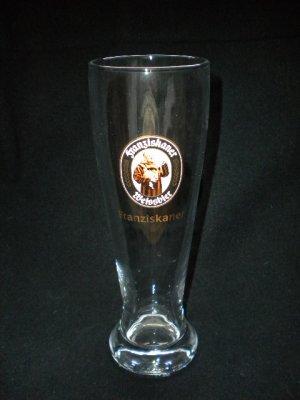 Franziskaner Weissen German Beer Glasses, Set of 2