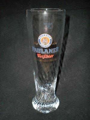 Paulaner Weisse German Beer Glasses, Set of 2