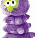 Critterpillar Plush Dog Toy  Purple