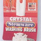 Foam Crystal Stemware Brush by Brushtech  (b61c)