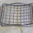 Chrome Mesh Grid  Soap Dish  (03005)
