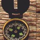 Plastic Lensatic Compass   (5177)