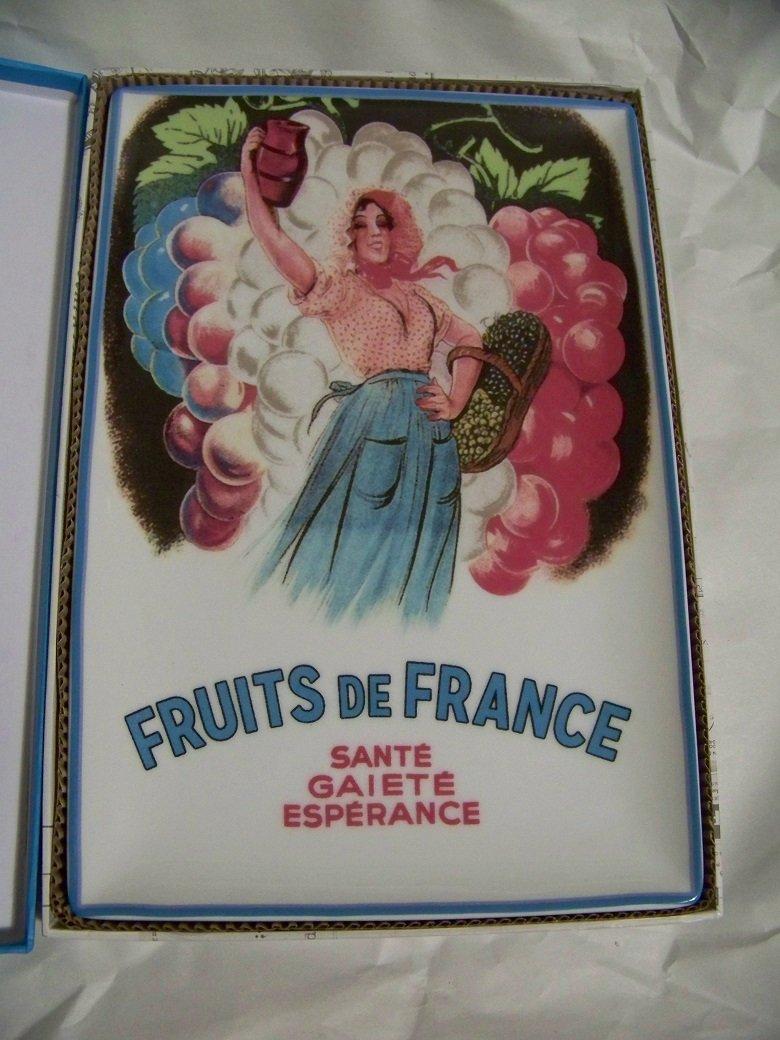 Garde Manger Fruits de France Rectangular Tray
